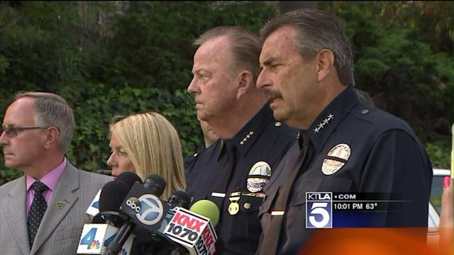 Detective Killed in Beverly Hills Crash ID`d as LAPD Mourns