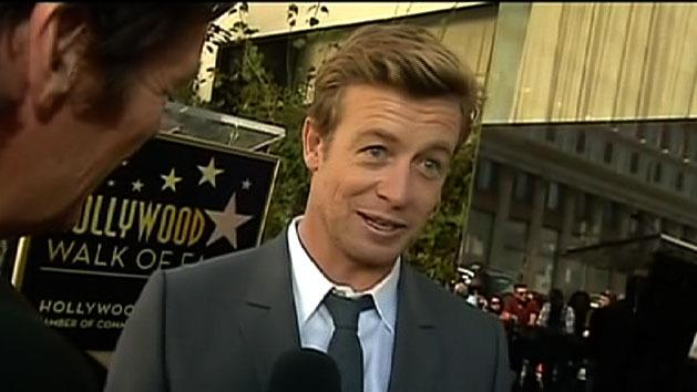 Simon Baker gets Hollywood star