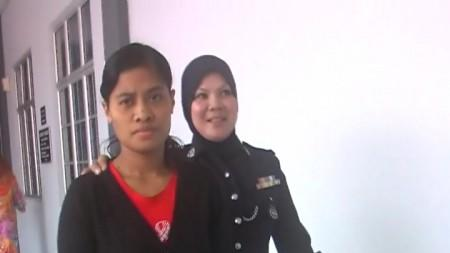 MURDER CHARGE : COURT EXTENDS MAID'S STAY AT MENTAL HOSPITAL PENDING EVALUATION REPORT