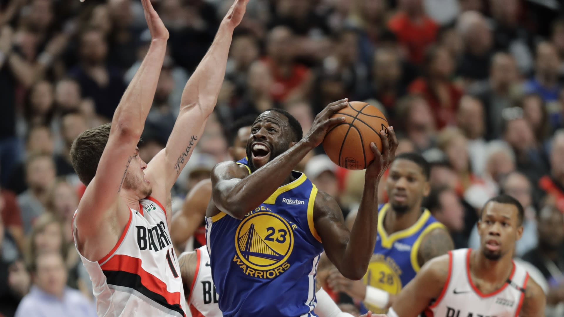 b81233d79f8 Warriors takeaways: What we learned in 110-99 Game 3 win over Blazers