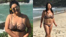 'Não me vejo bonita se estou muito magra', diz Fabiana Karla