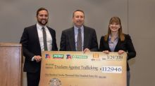 TravelCenters of America Presents Funds Raised in Campaign for Truckers against Trafficking