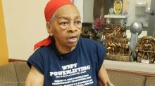 Bodybuilder, 82, smashes table over intruder who broke into her home