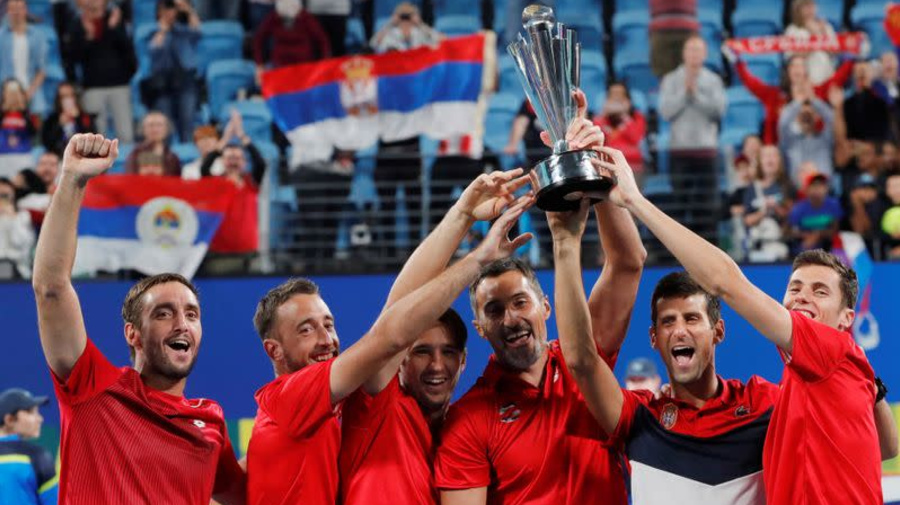 Tough draw for Djokovic's Serbia in ATP Cup