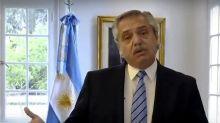Alberto Fernández rechazó el llamado al diálogo de Juntos por el Cambio