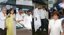 Bollywood celebrities arrive for Shashi Kapoor's last rites