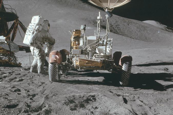Lunar Roving Vehicle as part of Apollo 15 Moon mission