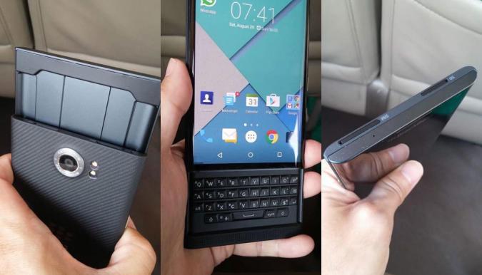 La BlackBerry con Android responde al nombre de Priv y llegará este año