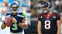 Should you play Russell Wilson over Matt Schaub?