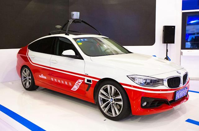 Baidu teams with ride-hailing service to fast track self-driving cars