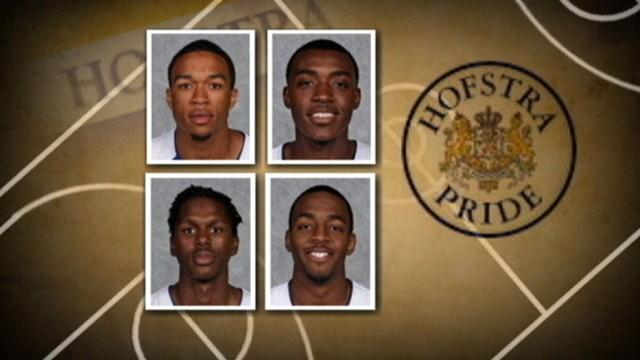 Hofstra University Basketball Players Accused of Stealing
