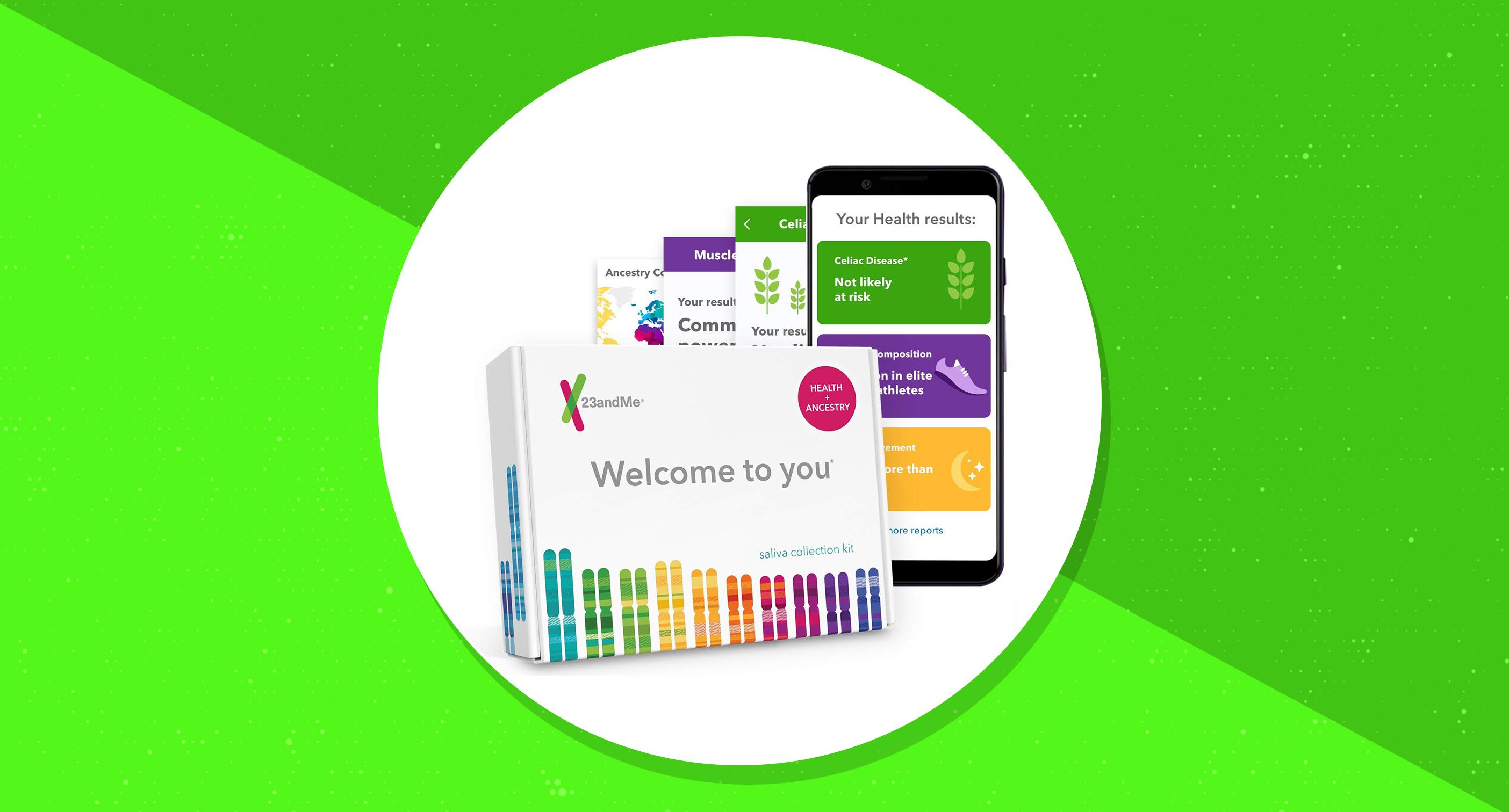 Prime Day 2019: 23andMe DNA test kit on sale for 50% off