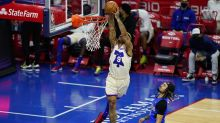 Maxey leads 76ers past Magic 128-117 in meaningless finale