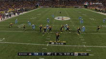How did you like watching an NFL game through the SkyCam angle?