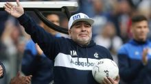Maradona critica ex-presidente da Argentina, Mauricio Macri, à frente da Fundação Fifa