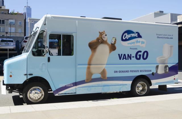 Charmin's 'Van-Go' is the on-demand toilet NYC deserves