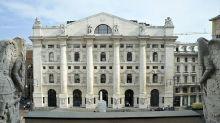 Piazza Affari consolida rimbalzo con Europa, Ftse Mib +2%