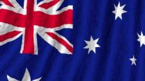 American National Anthem. Australian Flag. The Results Are Beautiful.