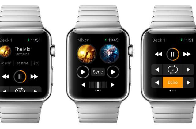 Djay for Apple Watch puts decks on your wrist