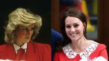 Kate Middleton Nods to Princess Diana