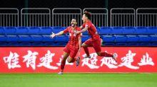 Henrique Dourado mantém boa média de gols e escrita na China