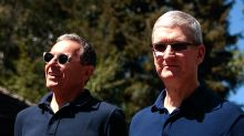 Apple and Disney split, while AT&T gets it from all sides