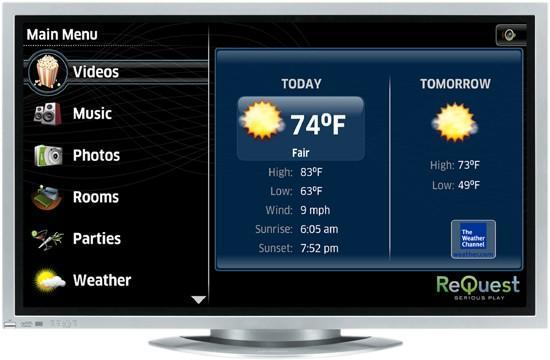 ReQuest produces HD user interface for its whole-home servers