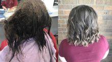 Cabeleireira passa 13h horas arrumando cabelo de jovem com depressão