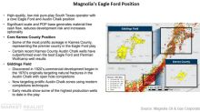 Magnolia Oil & Gas to Buy EnerVest's Eagle Ford Assets