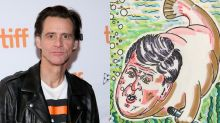 Jim Carrey mocks Sean Hannity in new painting, but not everyone loved it