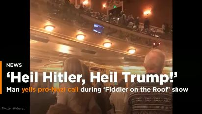 Man shouts 'Heil Hitler!' inside Baltimore theater