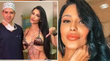 Woman has surgery for 11th time to achieve 'the perfect body'
