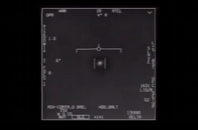 Pentagon officially releases 'UFO' footage