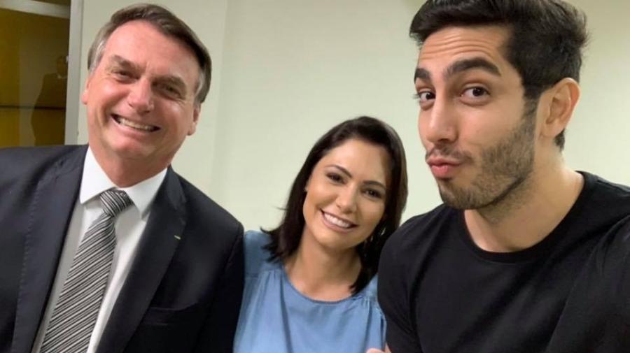 Bolsonaro estava em show de comédia durante pronunciamento