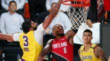 Basket - NBA - NBA: les Lakers reviennent dans le match face à Portland, Lillard blessé