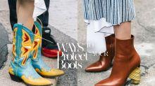 別再怕麻煩!7 個簡單步驟便可以保養你的皮革靴子