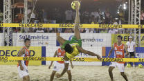 Futevôlei: Beach volleyball meets soccer