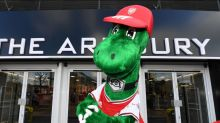 Gunnersaurus: Mesut Ozil offers to fund Jerry Quy's salary after Arsenal make mascot redundant
