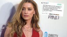 Amber Heard slammed for 'racist' tweet
