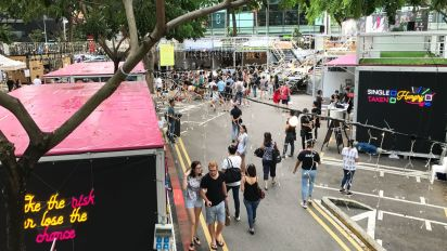 Flashbang organisers cite unfamiliarity with artists