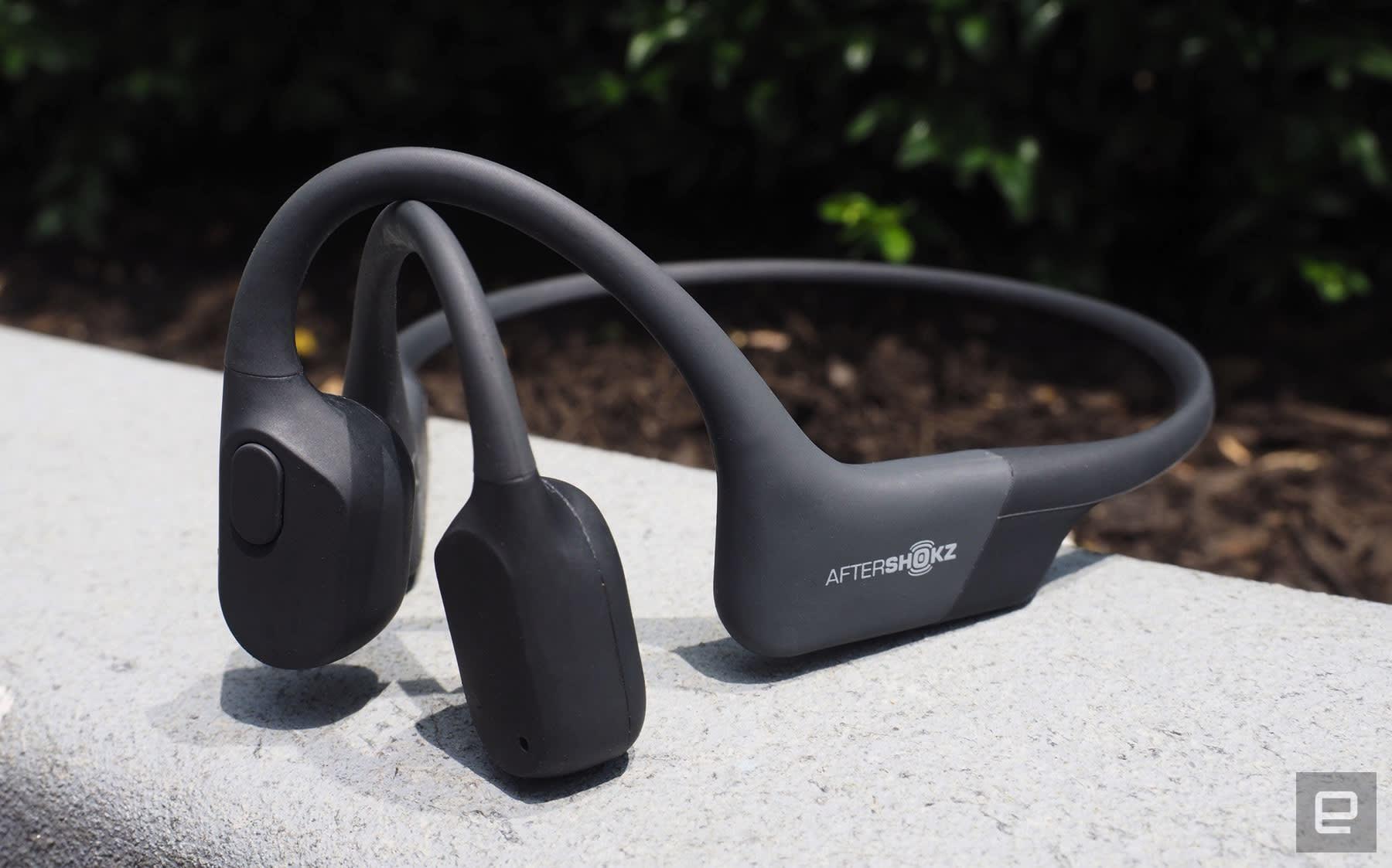 AfterShokz Aeropex açık kulaklı kulaklıklar, daha azının daha fazla olabileceğini kanıtlıyor | Engadget