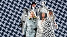 What Queen Elizabeth and Cardi B Have in Common: A Love of Houndstooth!