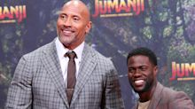 Dwayne 'The Rock' Johnson Shares Photo Of Kevin Hart You Won't Be Able To Unsee
