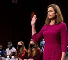 Democrats press Supreme Court Justice Amy Coney Barrett to recuse in major First Amendment case