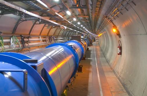 Large Hadron Collider wants to make mini Big Bangs, Sheldon and Leonard disapprove