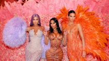 Fans unimpressed by pic of Kim Kardashian and Kylie Jenner announcing perfume launch date