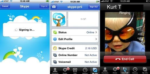 Skype for iPhone now live in US