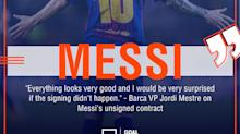 Lionel Messi... Get out of Barcelona while you still can