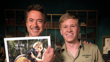 Robert Downey Jr.'s touching reunion with Robert Irwin, son of late 'Crocodile Hunter' Steve Irwin
