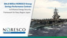 $86.8 Million NORESCO Energy Savings Performance Contract to Enhance Energy Security Framework for Navy Region Japan